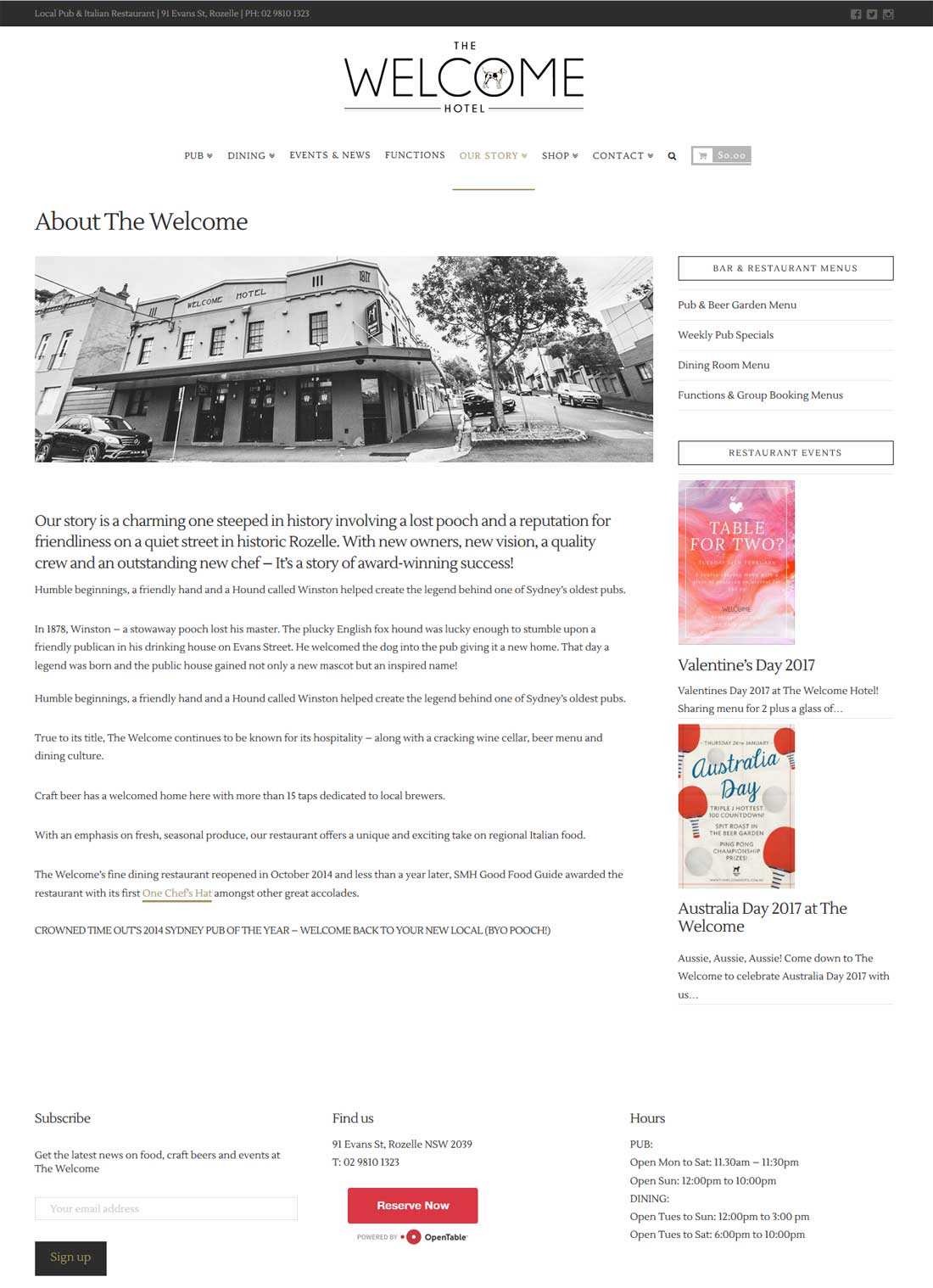 The Welcome Hotel - Rozelle